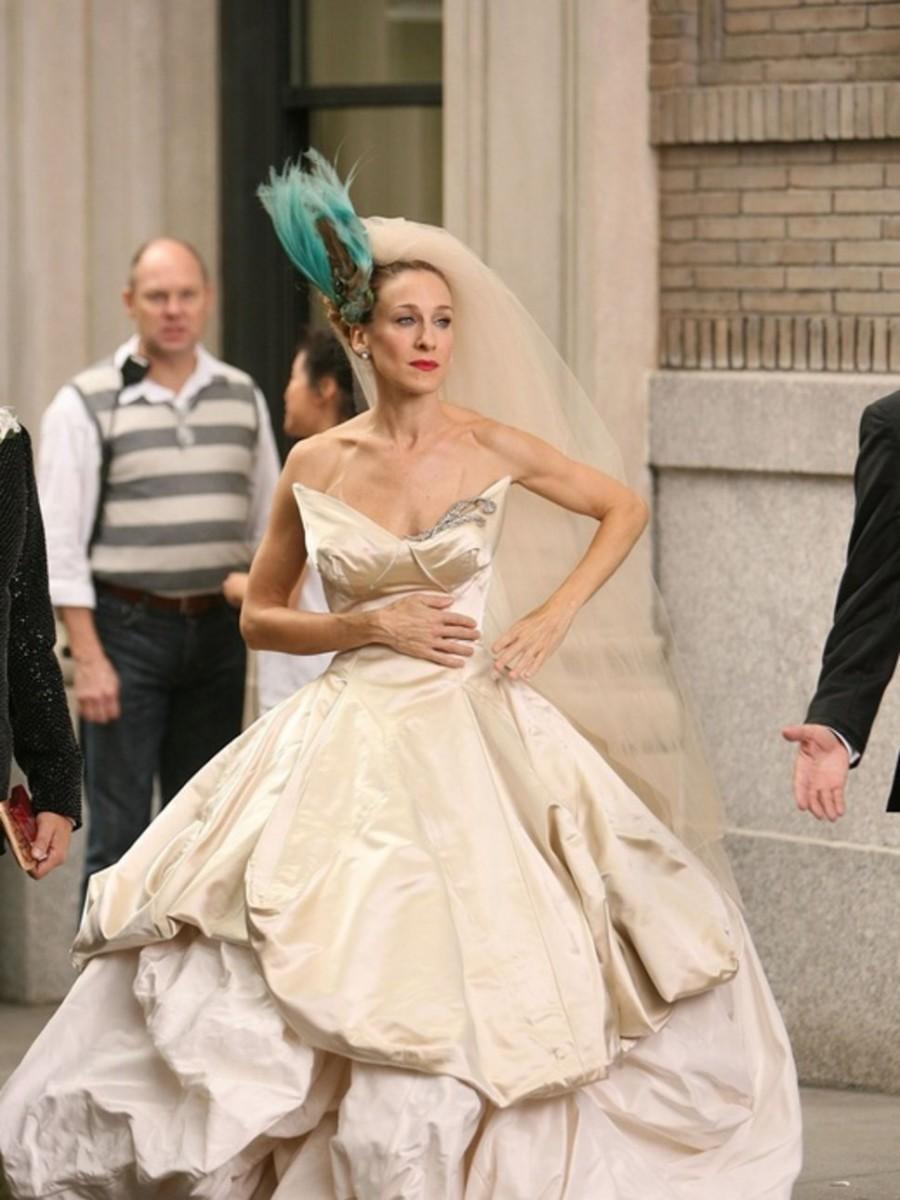 Vivienne Westwood creará una colección en honor al vestido de novia de Carrie Bradshaw