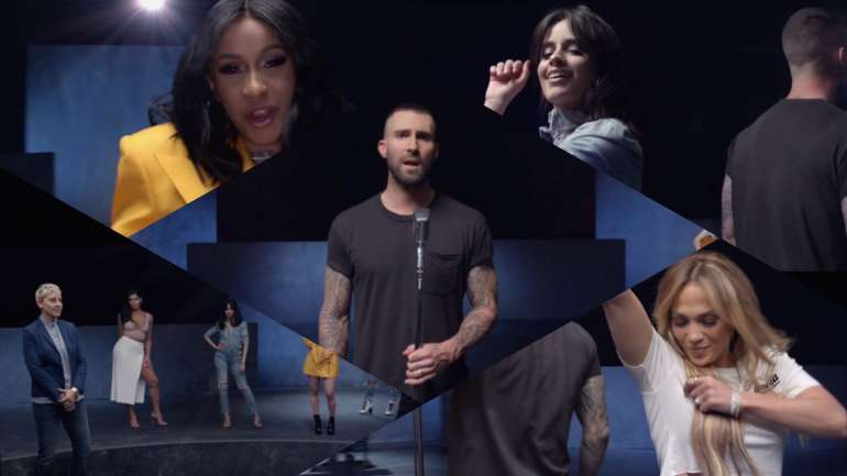 "El video de ""Girls Like You"" de Maroon 5 y Cardi B."