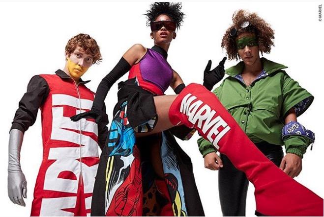 El pop de Marvel se une a la marca chilena The Remix en una colección