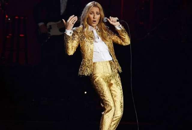 Schiaparelli creó cuatro looks de Alta Costura para la gira de Celine Dion
