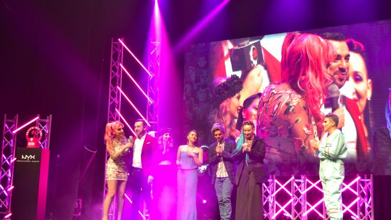 NYX Face Awards Chile 2018: Fernanda Rodríguez es la nueva artista del año