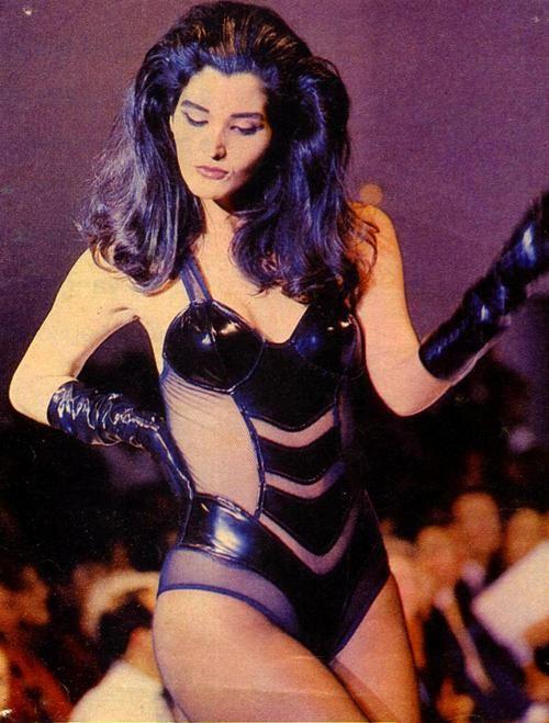 Roberta Close, una de las primeras modelos transexuales en París