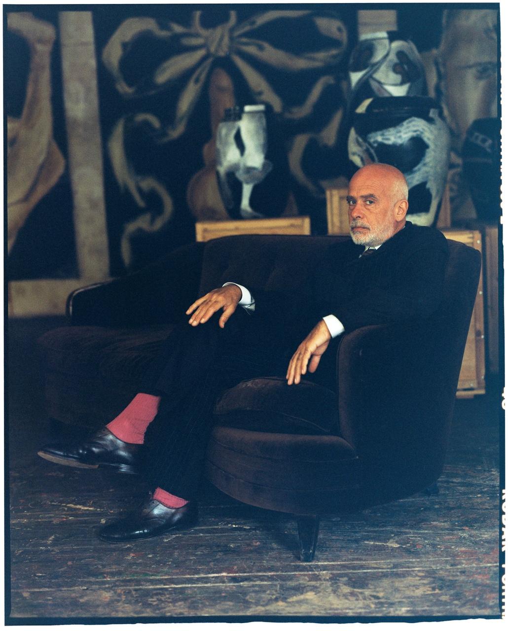 Arte y Moda: Francesco Clemente, entre Comme des Garçones y las supermodelos