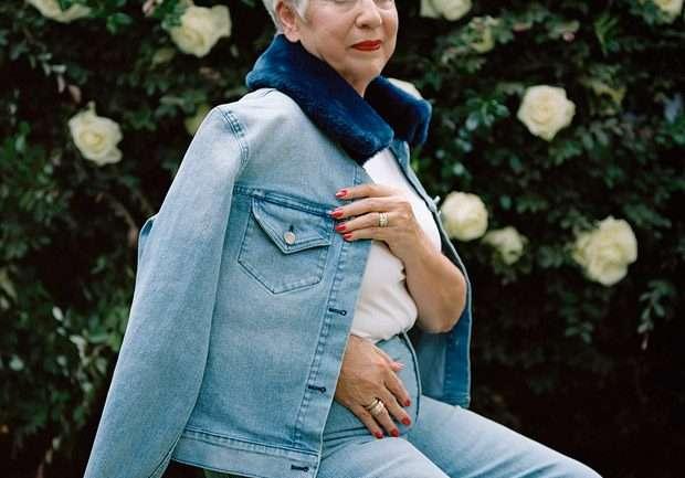 Brandon Maxwell pone a su abuela en la campaña de su colección F/W 2018
