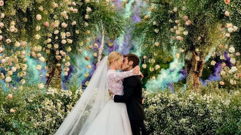 #TheFerragnez, la boda entre @chiaraferragni y @fedez