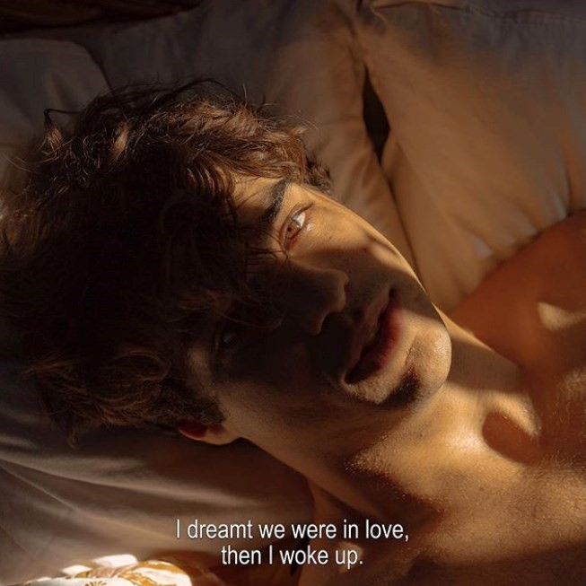 """La artista Sarah Bahbah retrata a Noah Centineo en la obra """"Dear Love"""""""