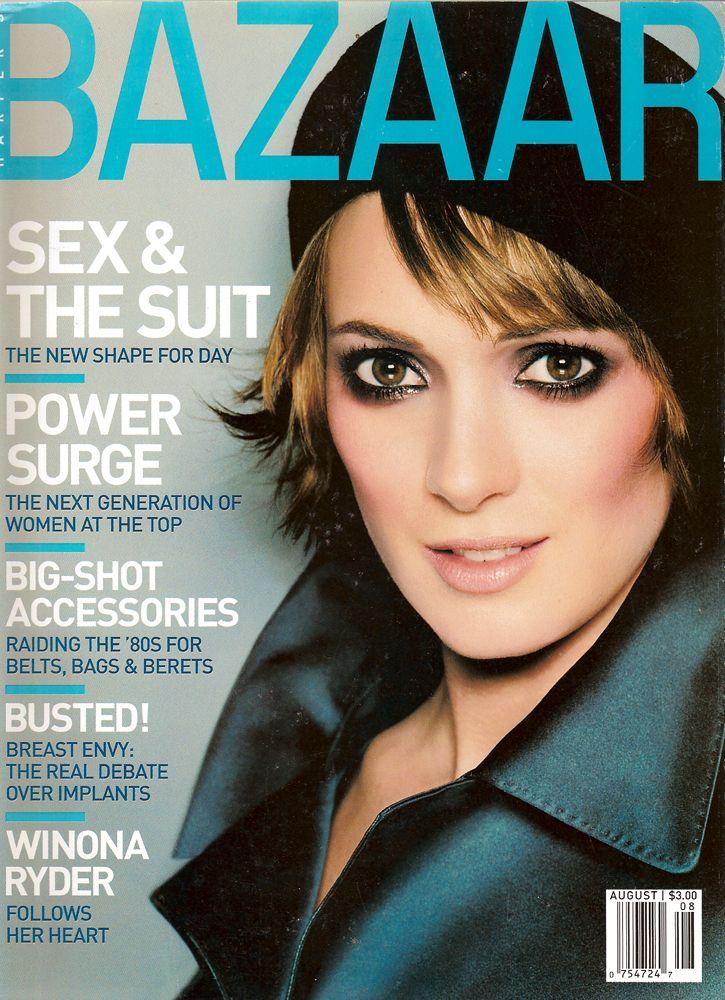 Las mejores portadas de Winona Ryder