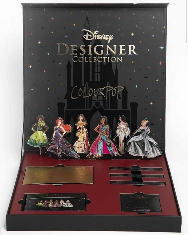 #DisneyDesignerAndColourpop, la línea de maquillaje inspirada en las Princesas de Disney