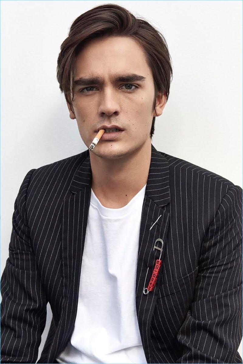 Alain-Fabien Delon, el hijo modelo del legendario actor francés
