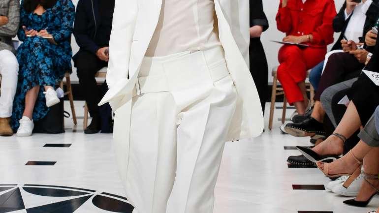 Los 10 años de Victoria Beckham fueron celebrados en London Fashion Week