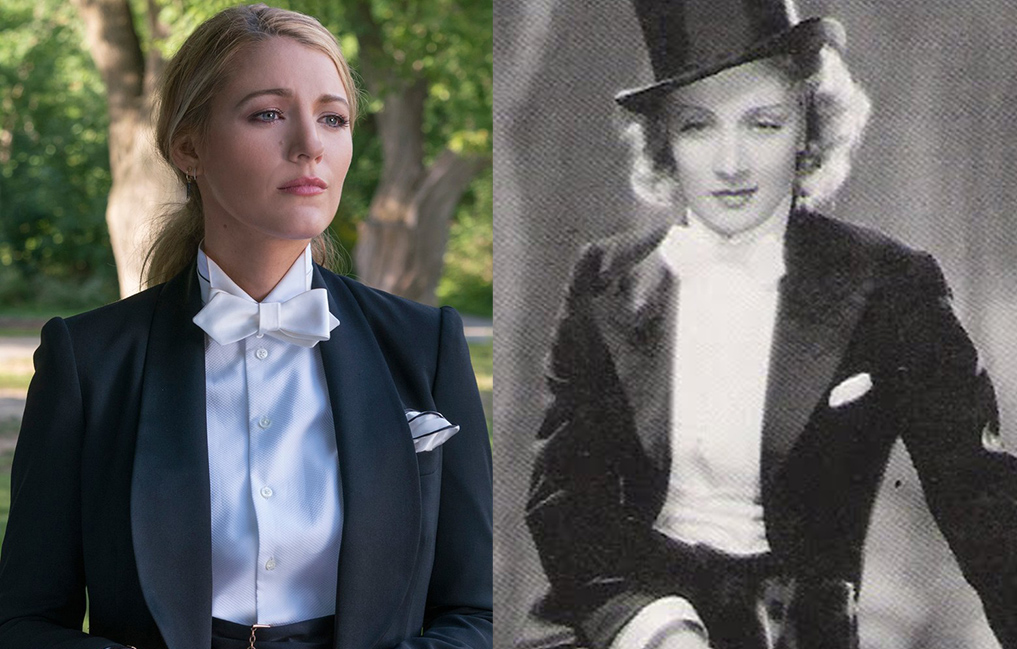 Cómo Blake Lively siguió el camino de Marlene Dietrich