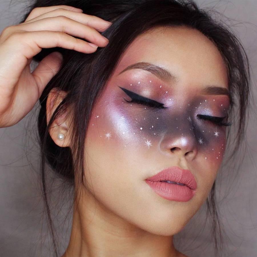 Space makeup, una tendencia que puedes utilizar para Halloween