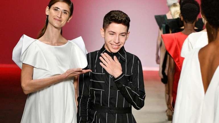 Rafael Bueno, el diseñador de 16 años que debutó en SPFW S/S 2019