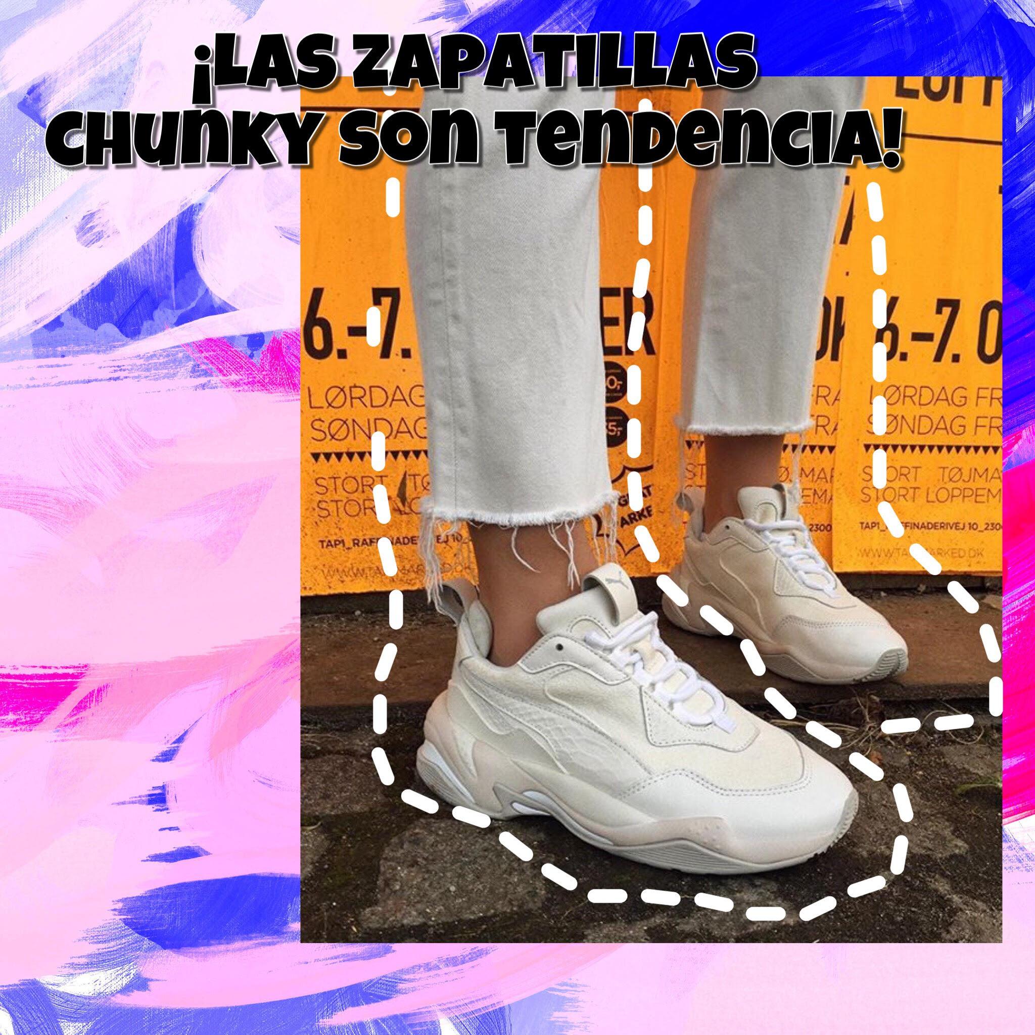 Conoce las zapatillas chunky y la mejor forma de llevarlas