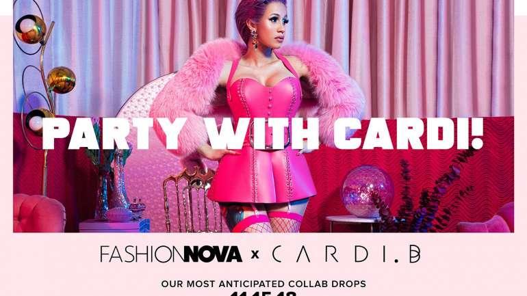 Cardi B y su primera colección de ropa junto a Fashion Nova