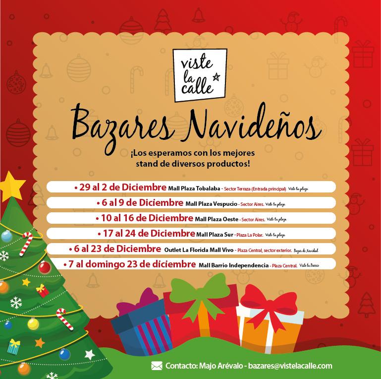Los bazares navideños de VisteLaCalle que veremos en diciembre