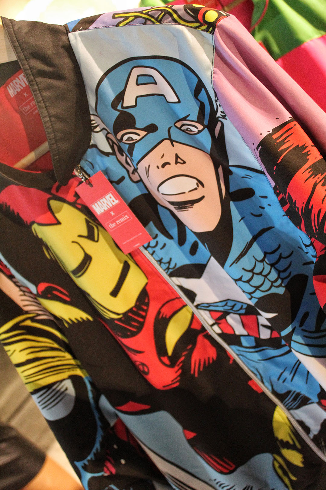 ¿Eres fanático de Marvel? Entonces la nueva y exclusiva colección de la marca chilena The Remix es para ti