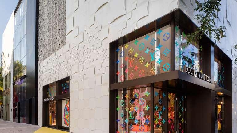 ¿Cómo es el interior de la nueva tienda pop up de Louis Vuitton en Miami?