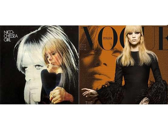 El homenaje de Vogue Italia a Nico