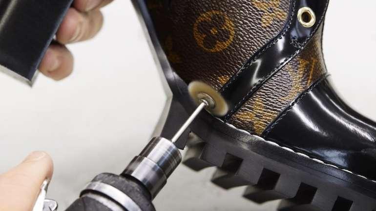 ¿Cómo se confeccionan los zapatos Louis Vuitton?