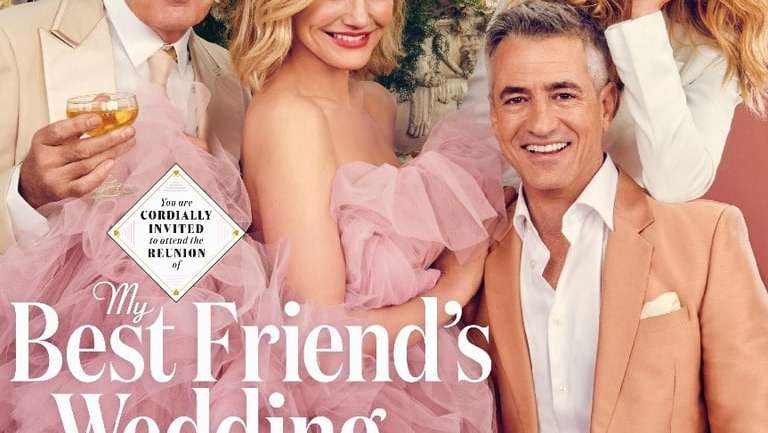"""La reunión del elenco de """"La boda de mi mejor amigo"""" 22 años después"""
