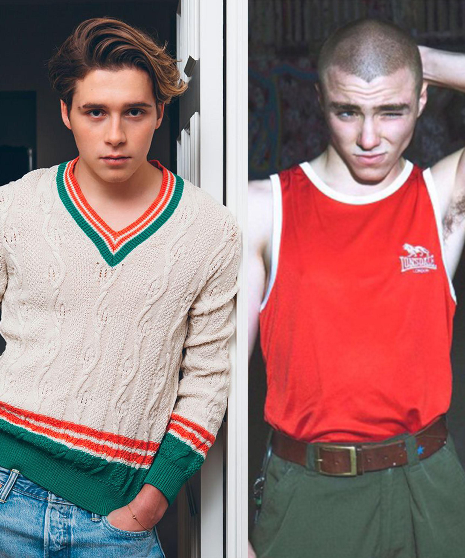Brooklyn Beckham y Rocco Ritchie: Un squad de estilo