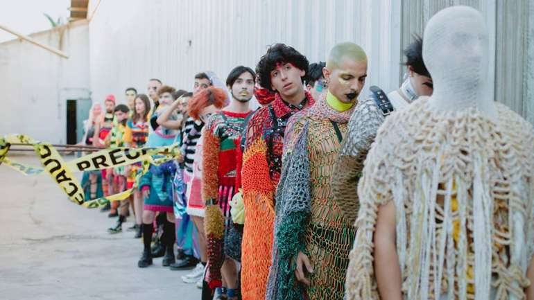 El primer desfile en solitario de Ingrato, la marca de Sebastián Plaza