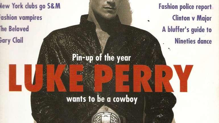 Adiós Luke Perry: Recordamos sus mejores imágenes