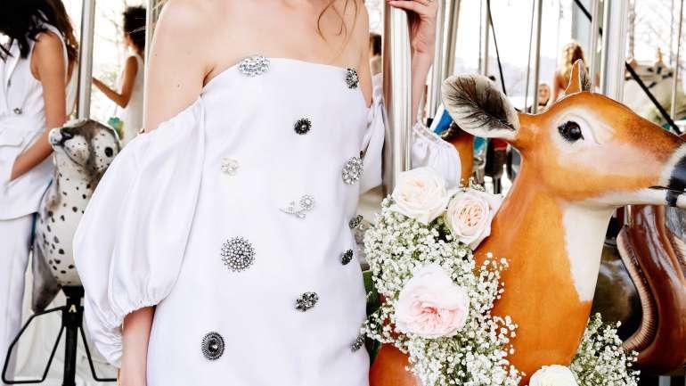 Los trajes más originales de la temporada Bridal 2019