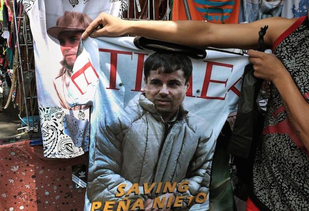 La línea de ropa del Chapo: moda y drogas