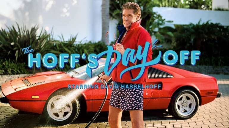 Guardianes de los calcetines: David Hasselhoff y su campaña para Happy Socks