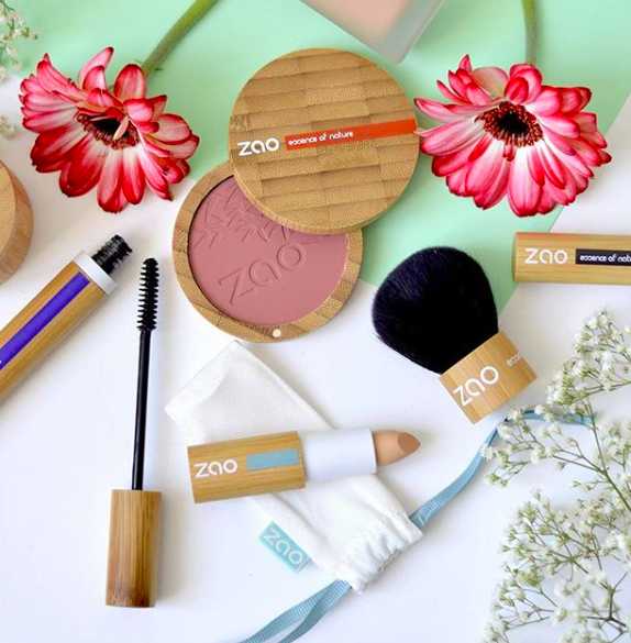 Zao Organic Makeup, maquillaje 100% natural, orgánico y vegano