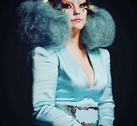 Björk x Olivier Rousteing de Balmain
