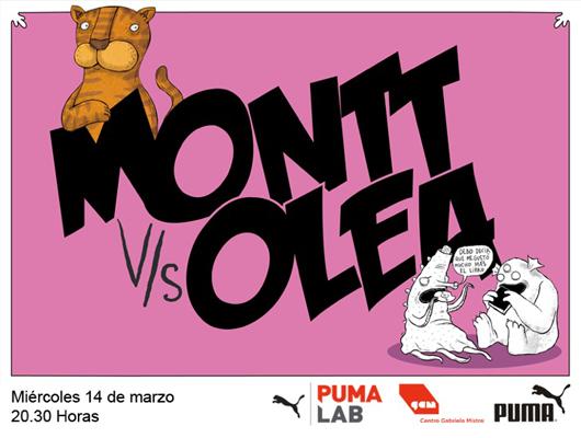 Alberto Montt y Francisco Javier Olea en Puma Lab