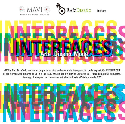 """Raíz Diseño 2012: """"Interfaces. Arte, Diseño y Moda"""""""