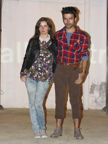 Sofia Oportot y Nicolás Oyarce