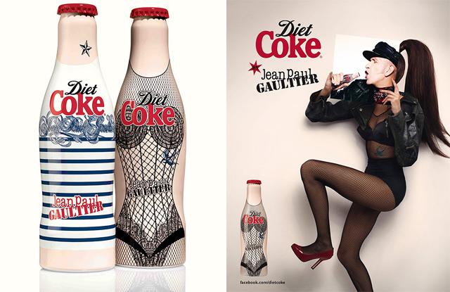 Las nueva ropa de los envases de Coca Cola