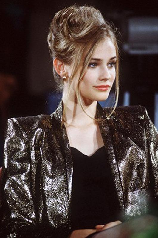 Flashback: Diane Kruger, la modelo