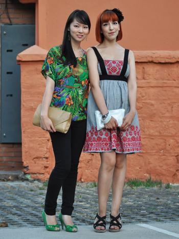 Sue Wang e Isidora Morales