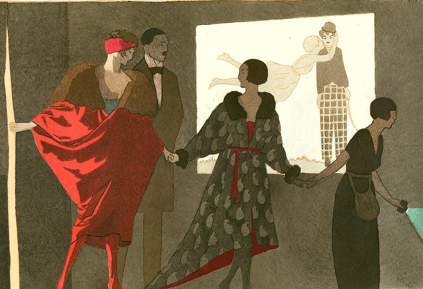 Las ilustraciones de A.E. Marty