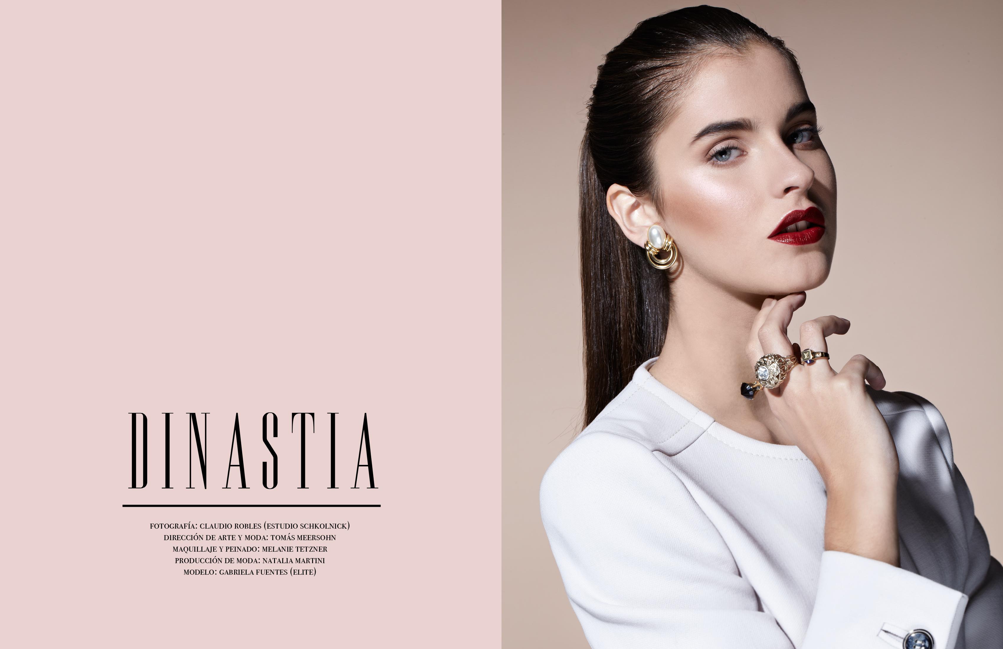 Fashion Editorial: Dinastía