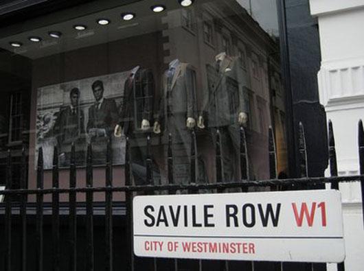 Savile Row, la calle de los sastres