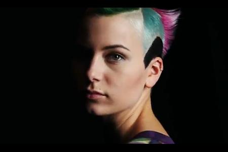 VLC ♥ I Was A Punk Rock Princess Fashion Story por Dazed & Confused Magazine