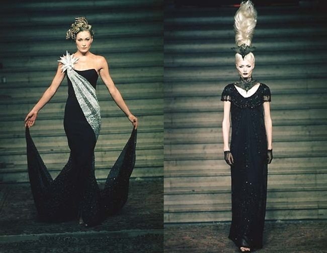 Flashback: Alexander McQueen para Givenchy, otoño invierno 1997-98