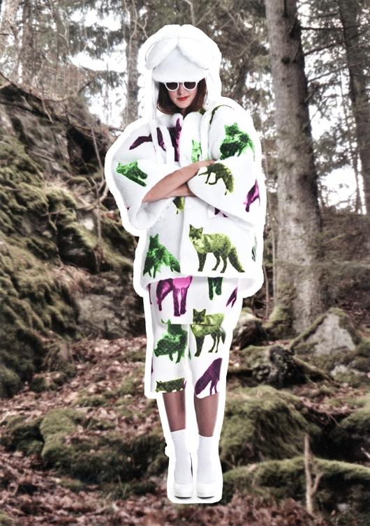 The Swedish School of Textiles en Mercedes-Benz Fashion Week Stockholm