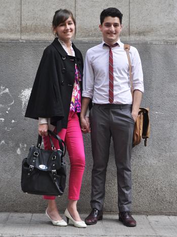 Paula Reyes y Matías Moreno