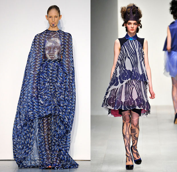 London Fashion Week S/S 2013: Fyodor Golan y Bara Aksu