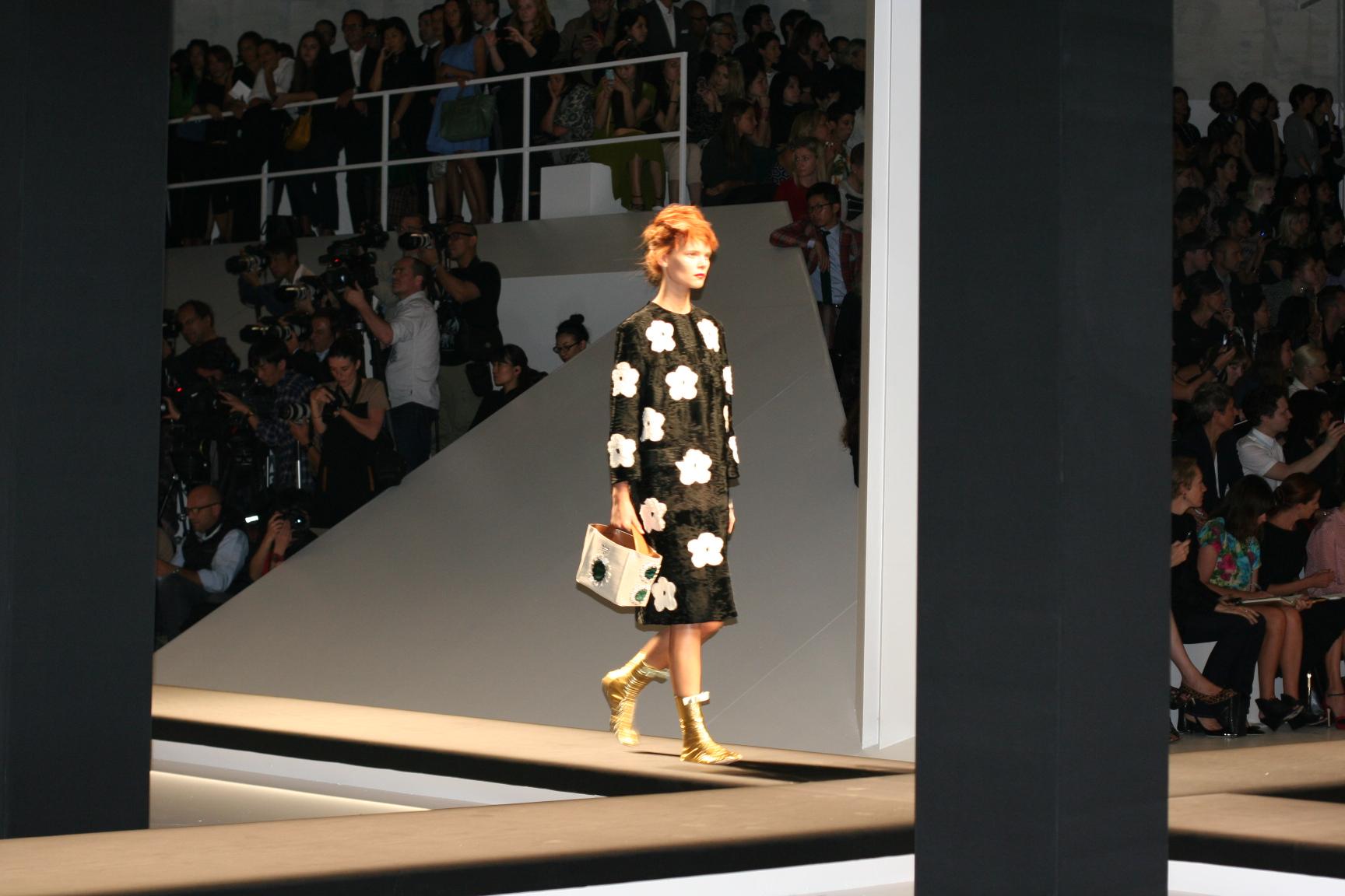 Nuestro primer desfile Prada en Milán Fashion Week