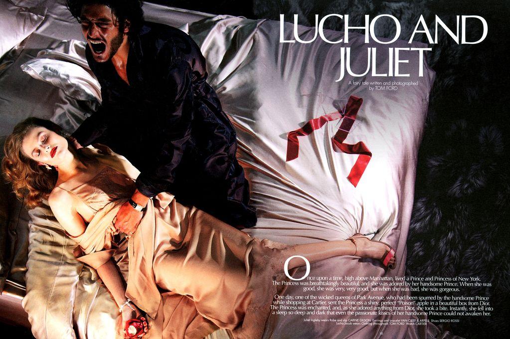 Lucho Jacob por Tom Ford para CR Fashion Book 1, 2012