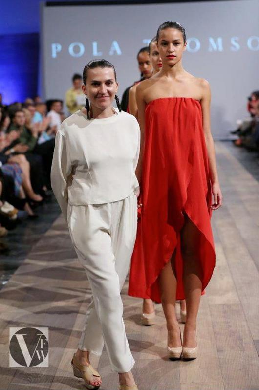 Pola Thomson en Vancouver Fashion Week